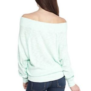 7a16a49e3f8a0 Free People Tops - Free People Palisades off shoulder thermal small